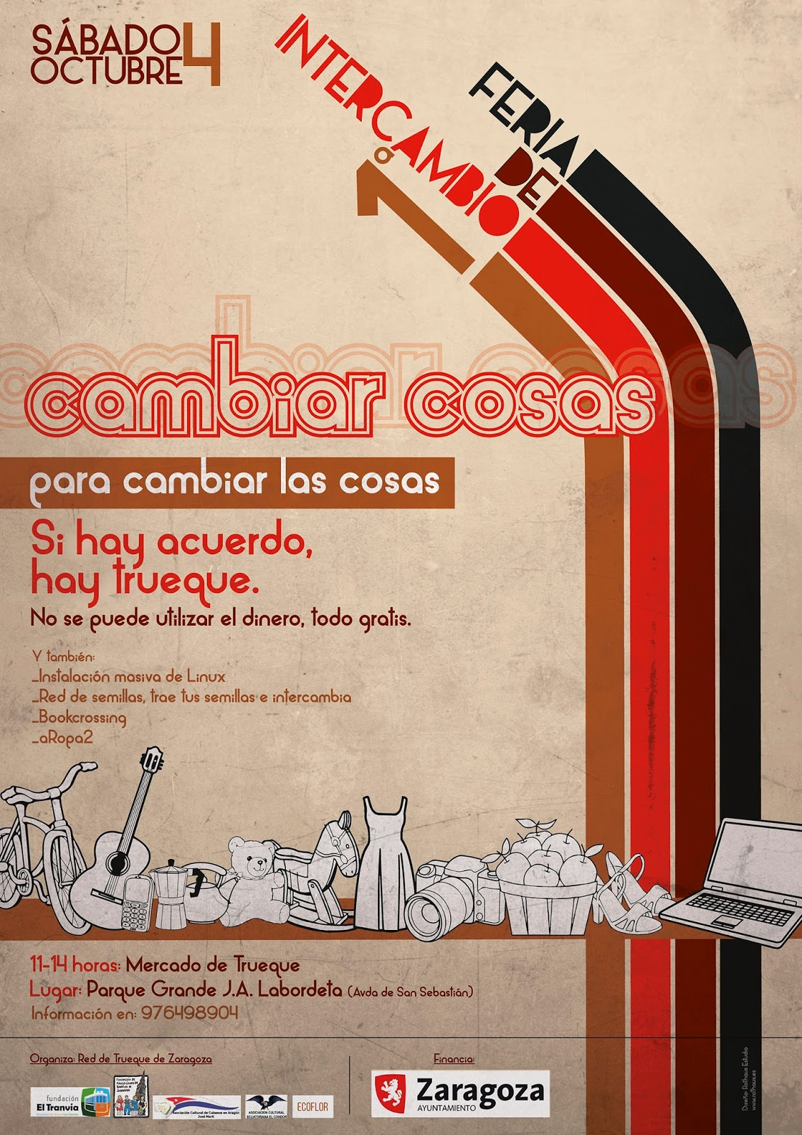 Primera Feria Intercambio en Zaragoza