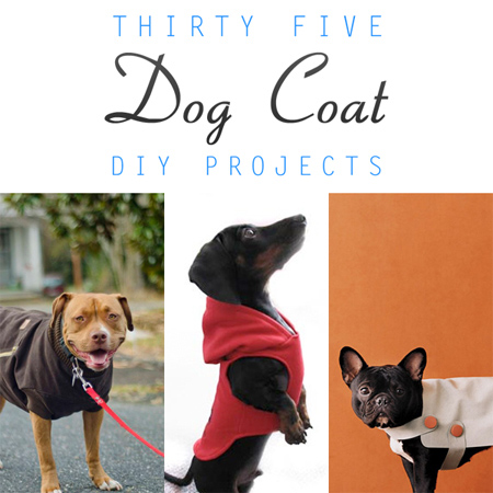 35 DIY Dog Coats - thecottagemarket.com