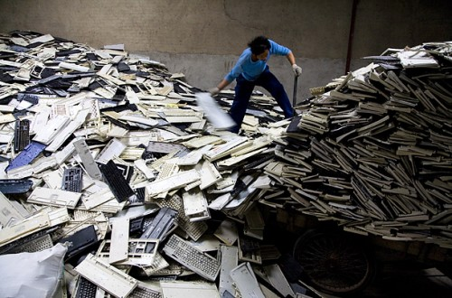 Foto: Chien-min Chung. E-Waste -Publicada en la revista Time.