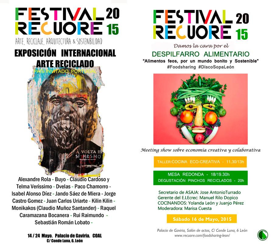 Festival RECUORE - Arte y Reciclaje