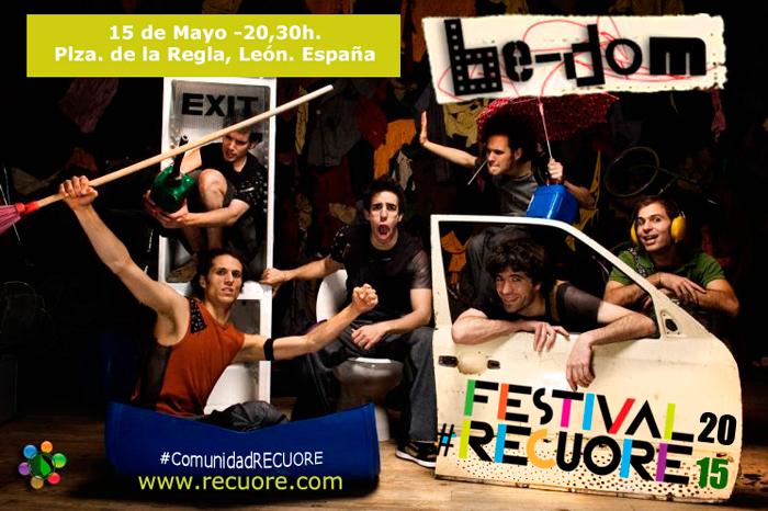 Festival RECUORE - Arte , Reciclaje, Arquitectura y Sostenibilidad