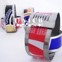Cómo hacer pulseras con latas - Único Complementos