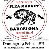 Flea Market en Barcelona el 19 de febrero.