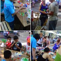Talleres de Reciclaje Creativo para jóvenes.