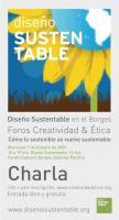 Diseño Sustentable en el 5º Foro de Creatividad Ética.