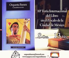 Orquesta Basura en el Zócalo.