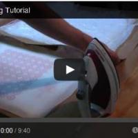 Tutoriales para hacer bolsas o envoltorios reutilizables con la técnica de fundido.