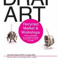 Mercado Drap-Art de reciclaje artístico y consumo sostenible