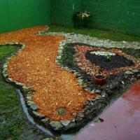 Jardín de escombros - El arte de reutilizar.