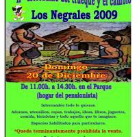 Segundo mercadillo de trueque y cambio en Los Negrales.