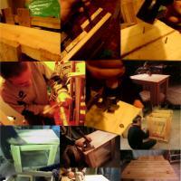 Mesa hecha con palés 2