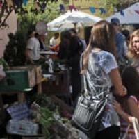 Primer mercado de consumo consciente en San Fernando.
