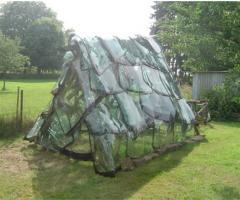 Invernaderos de parabrisas.