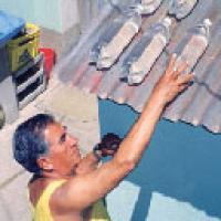 Desinfección y purificador de agua solar