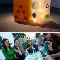 Taller de Reciclado: Construcción de objetos de arte, lúdicos y utilitarios.