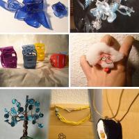 Complementos con material reciclado - ÚniCo